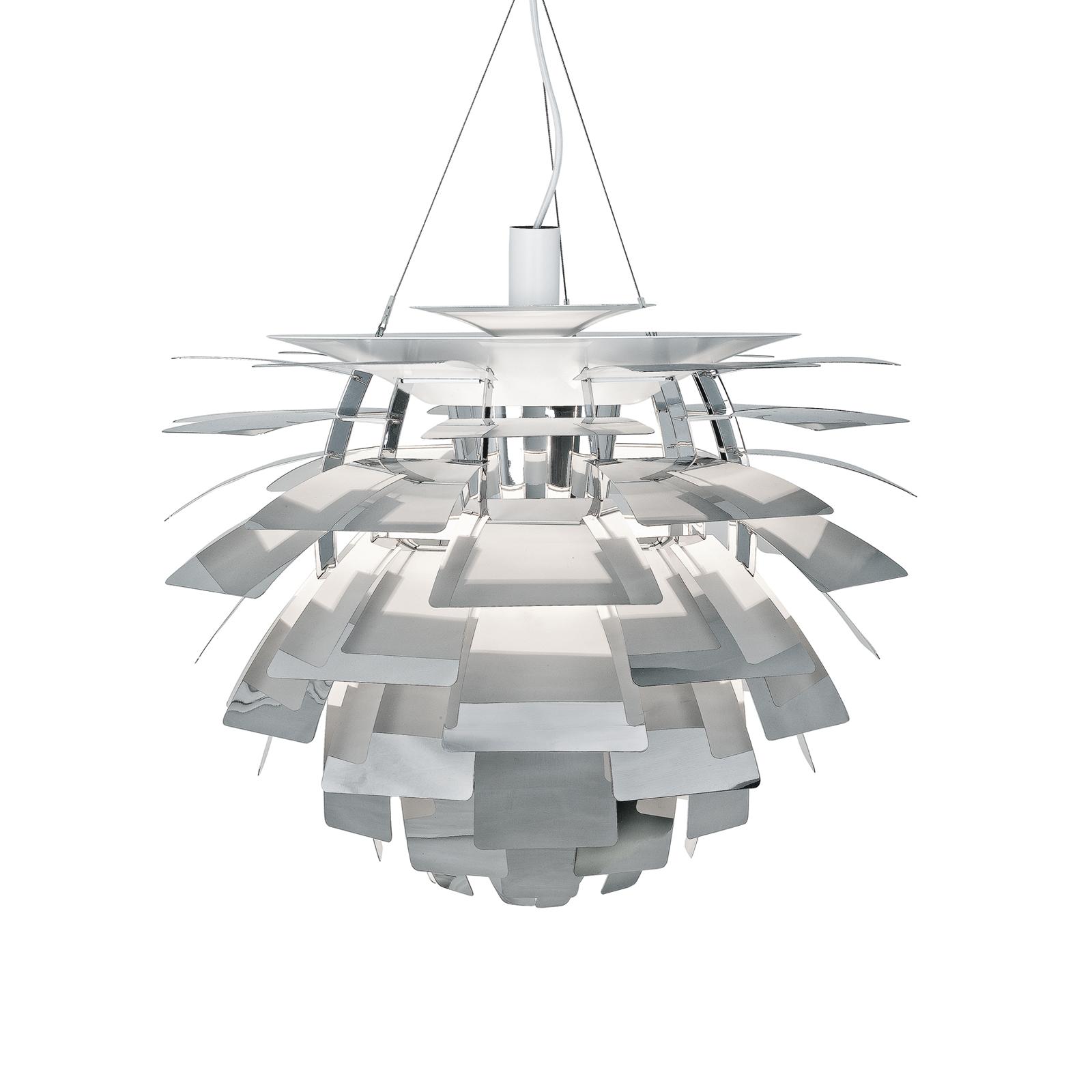 Louis Poulsen PH Kotte 60cm Polerad rostfritt Glashuset malmö