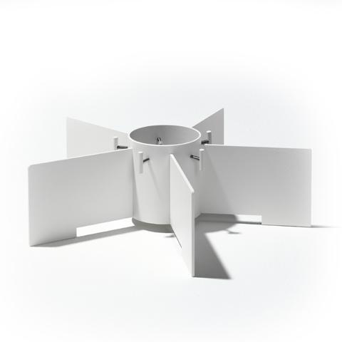 SMD Design Vit Julgransfot Glashuset