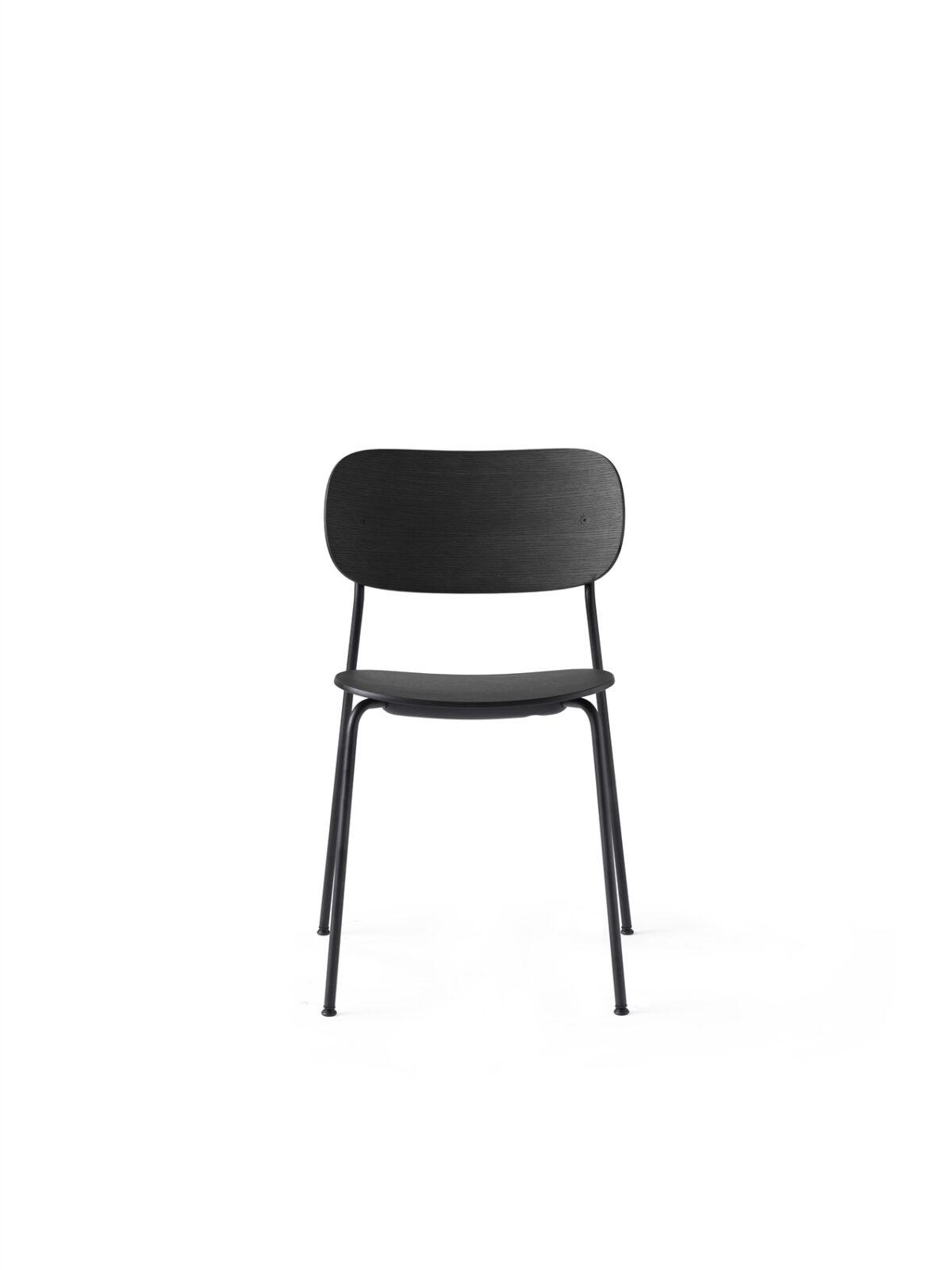 1161539 Co Chair Black Base Black Oak