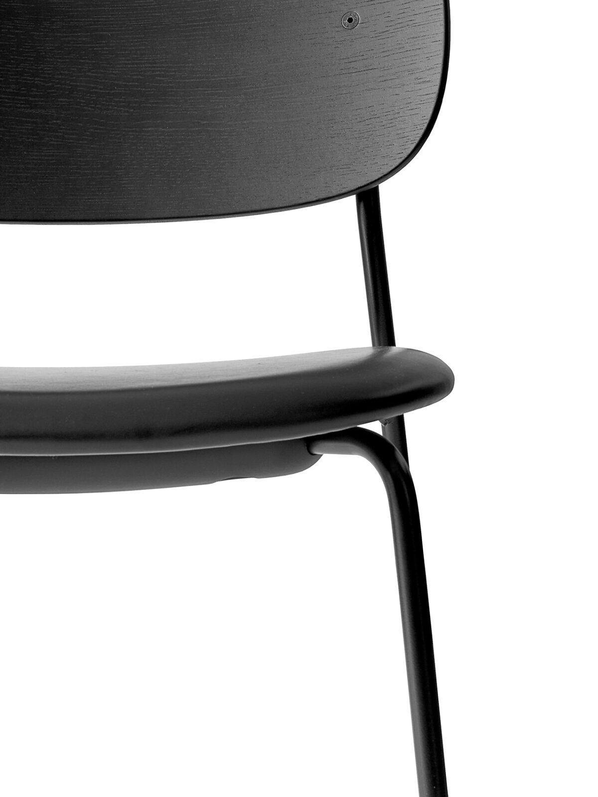 1167539 Co Dining Chair Black Oak Dakar black 0842 detail