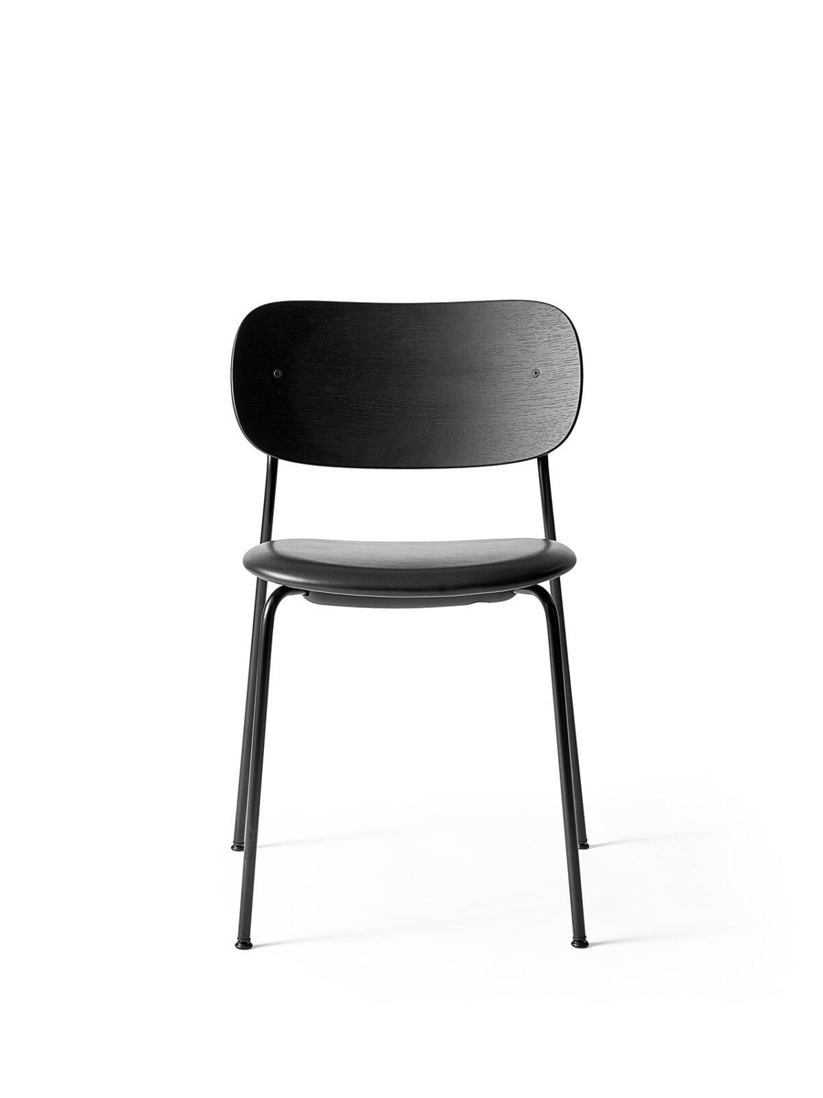 1167539 Co Dining Chair Black Oak Dakar black 0842 front