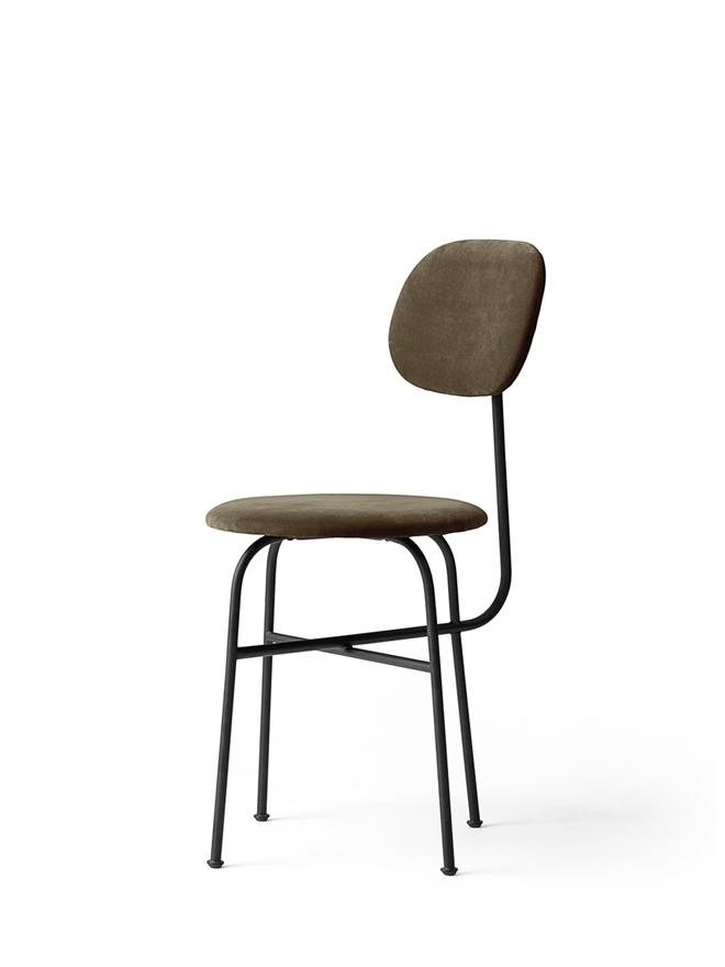 8465989 Afteroom Dining Chair Plus CityVelvetCA7832 078 Black Angle