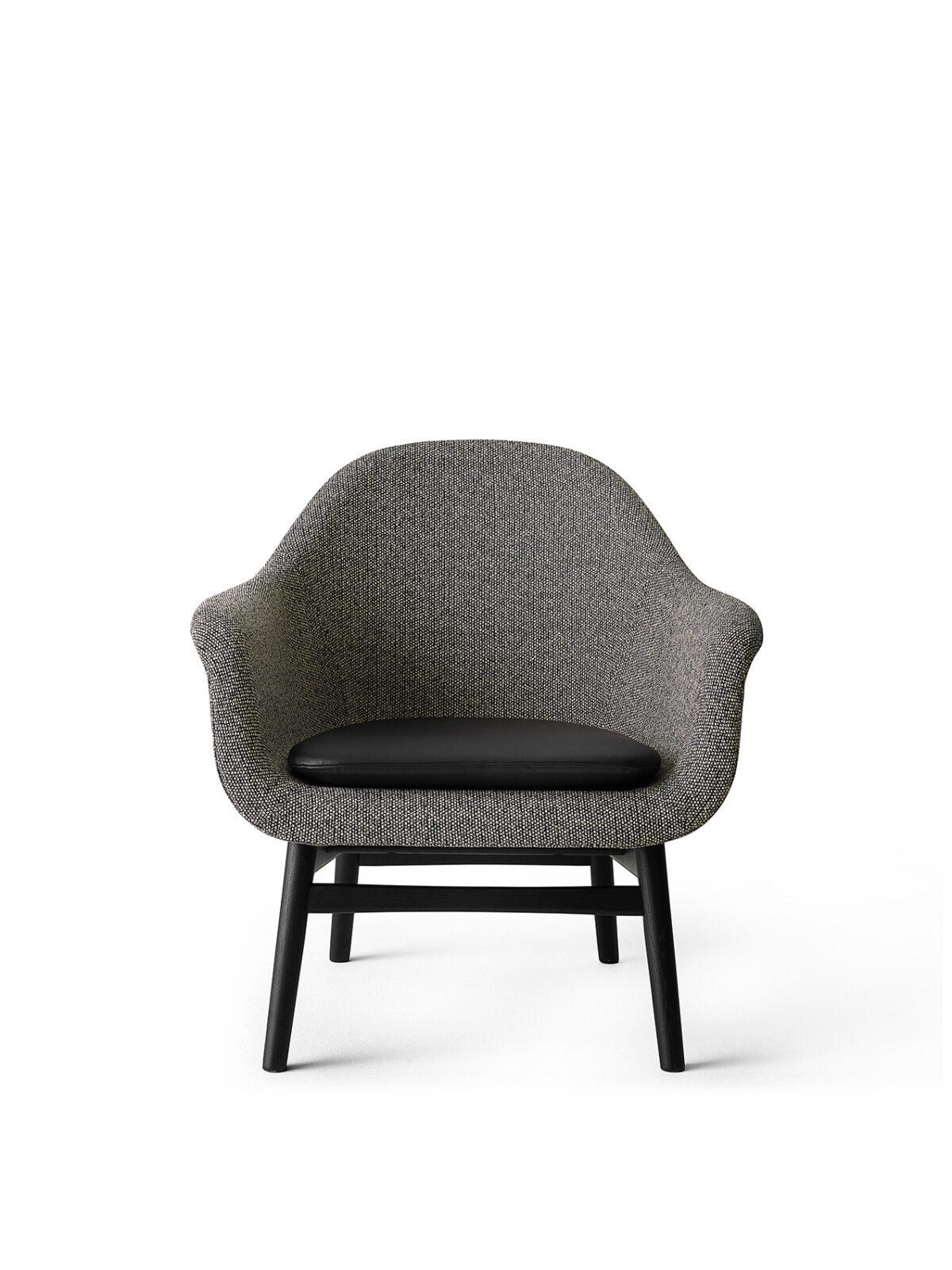9255569 Harbour Lounge Low back Black oak Savanna 152 Shade pitch black cushion front 1