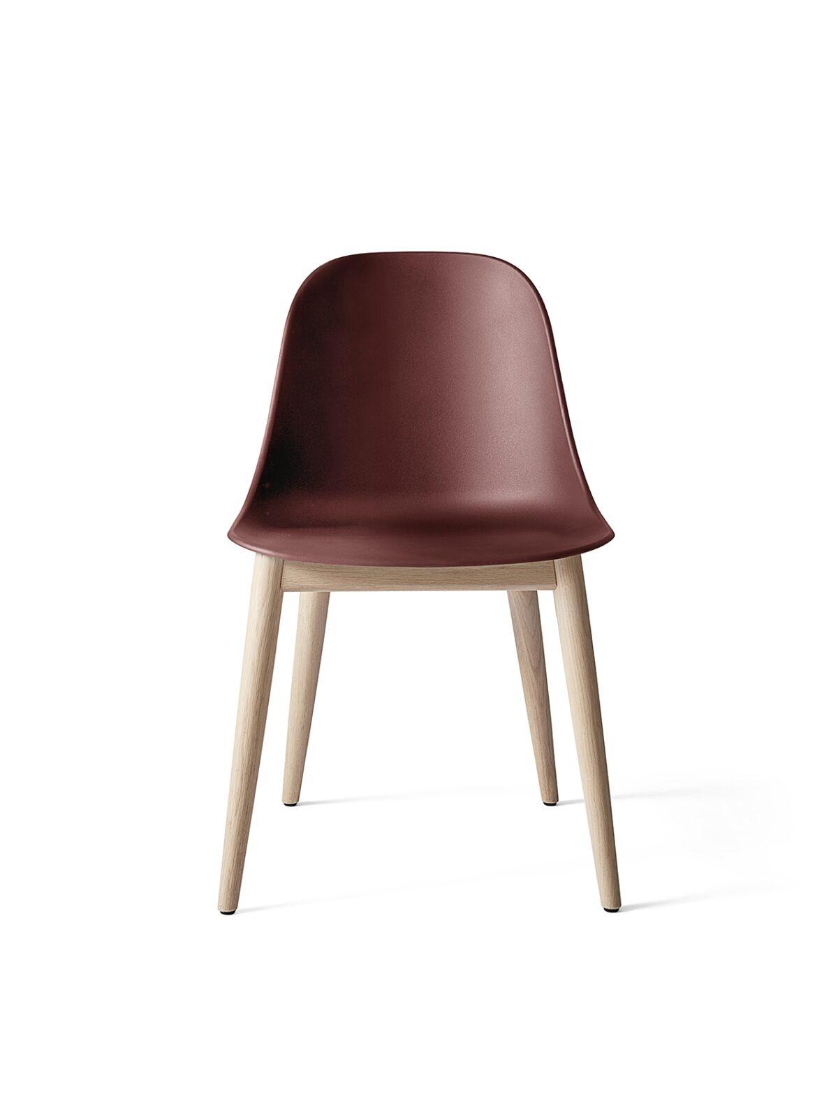 9270349 Harbour Side Chair BurnedRed NaturalOak Front