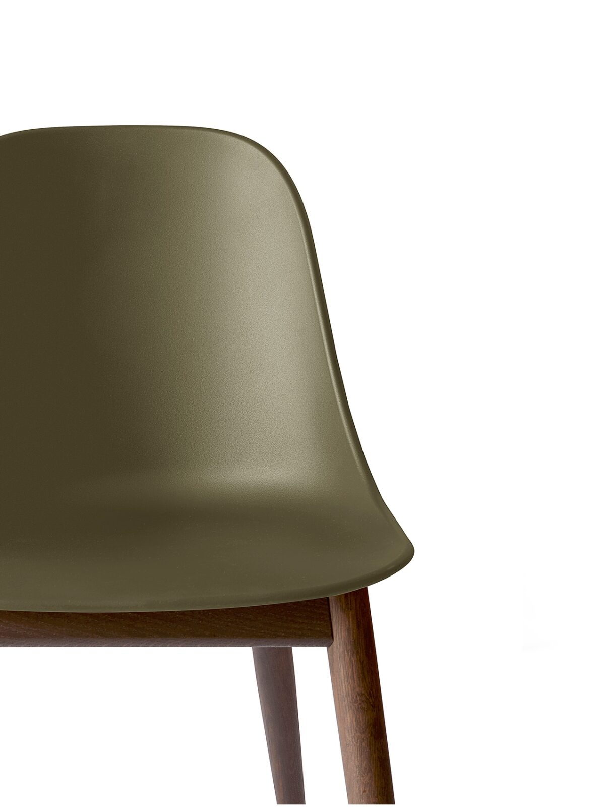 9278429 Harbour Side Chair Olive DarkStainedOak CloseUp