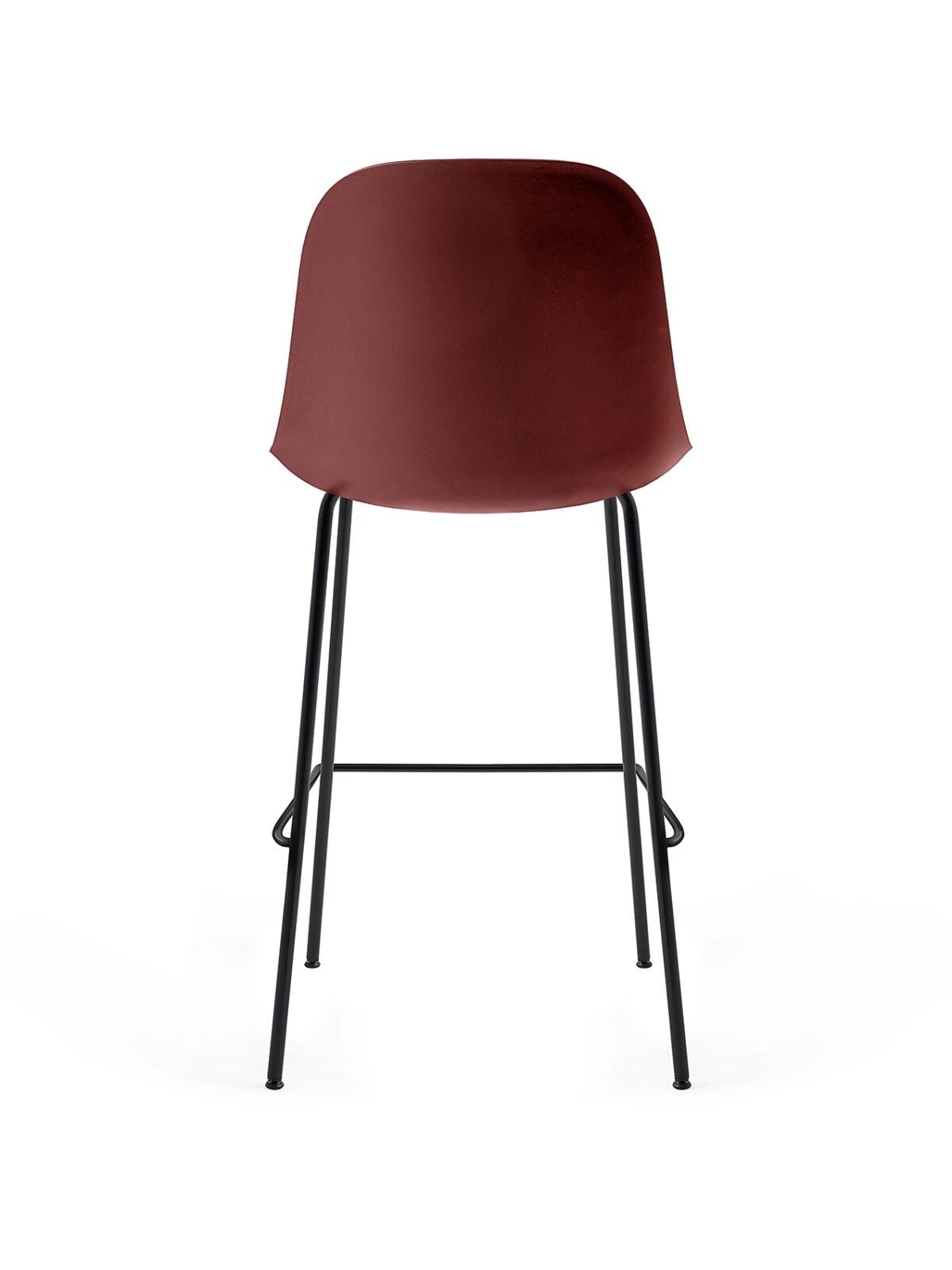 9285349 Harbour Side Bar Chair BurndRed Black Back 1