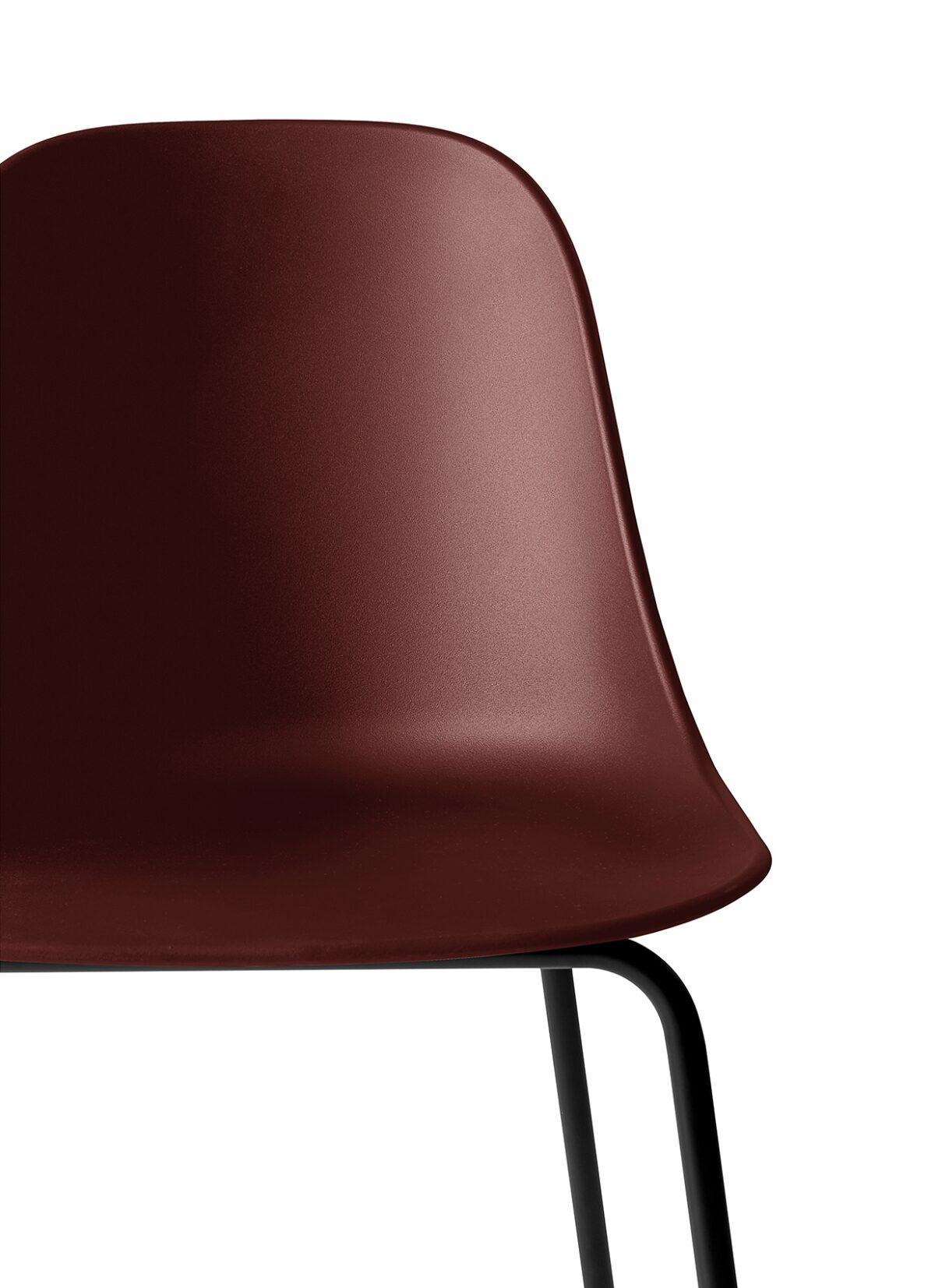 9285349 Harbour Side Bar Chair BurndRed Black CloseUp 1