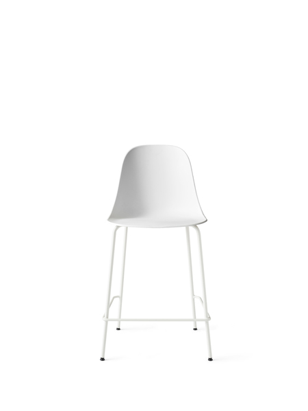 9291639 Harbour Side Counter Chair White LightGrey Front