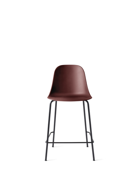 9295349 Harbour Side Counter Chair BurndRed Black Front