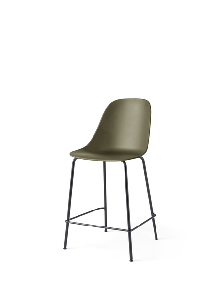 9295429 Harbour Side Counter Chair Olive Black Angle