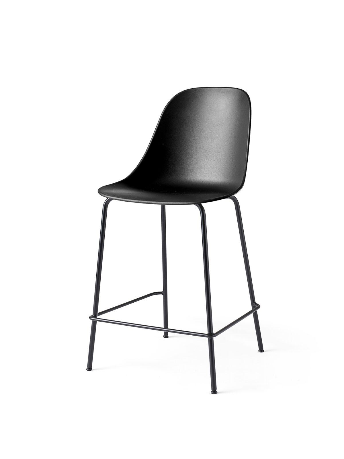 9295539 Harbour Side Counter Chair Black Black Angle 1