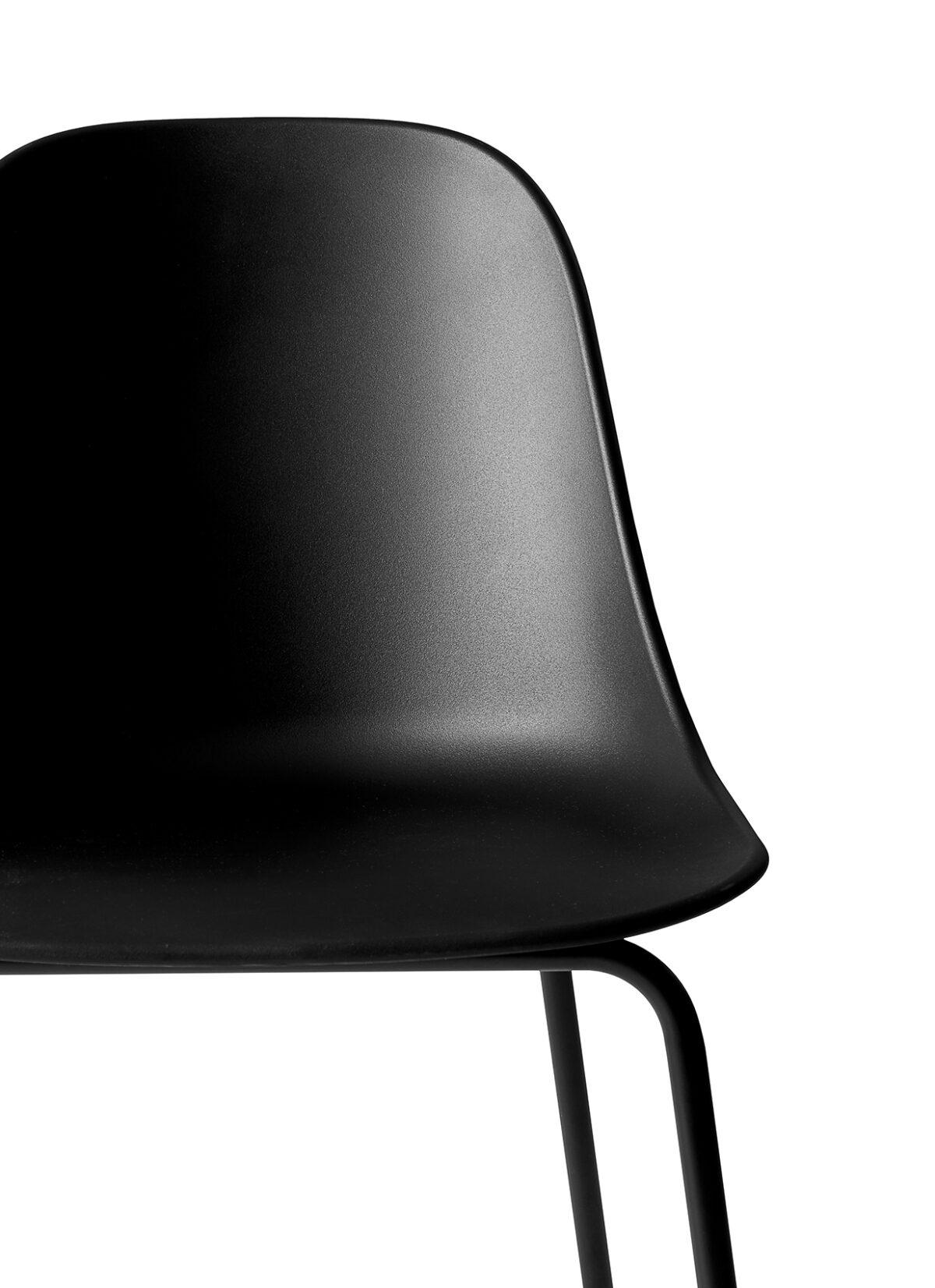 9295539 Harbour Side Counter Chair Black Black CloseUp 1