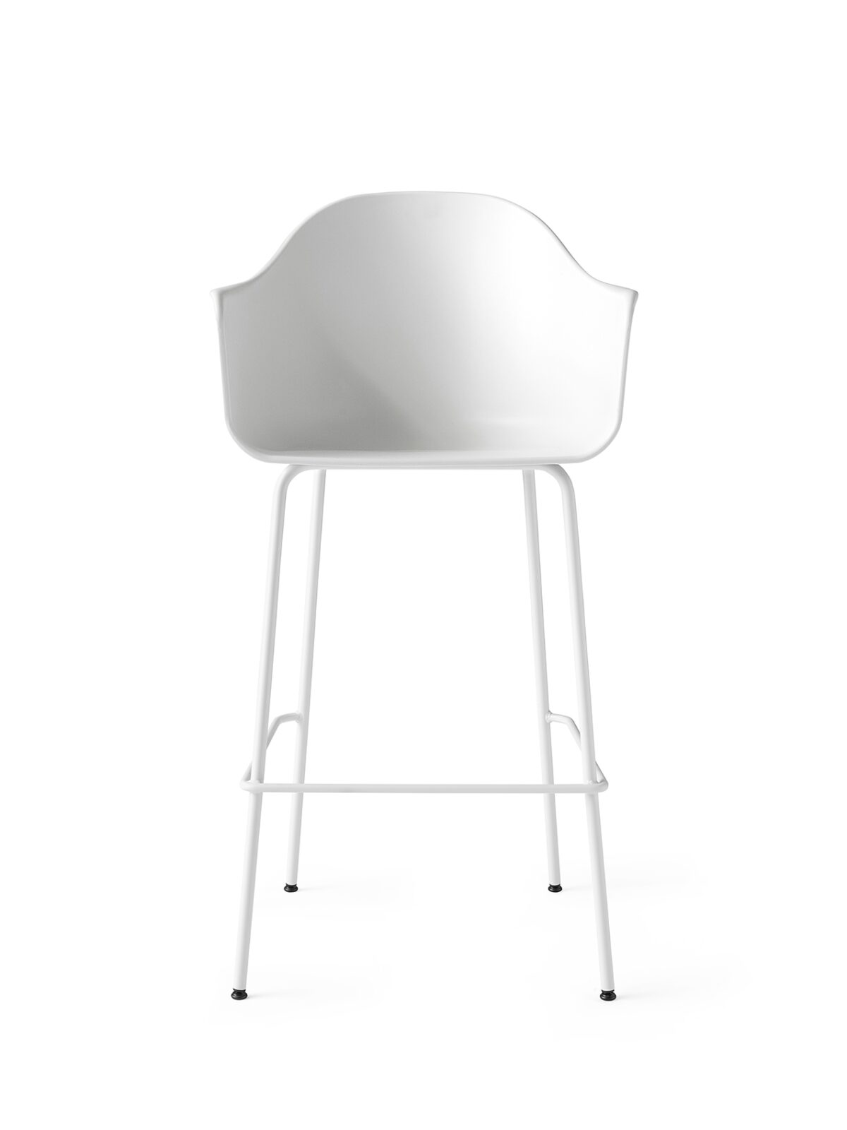 9341639 Harbour Chair Bar White LightGrey Front