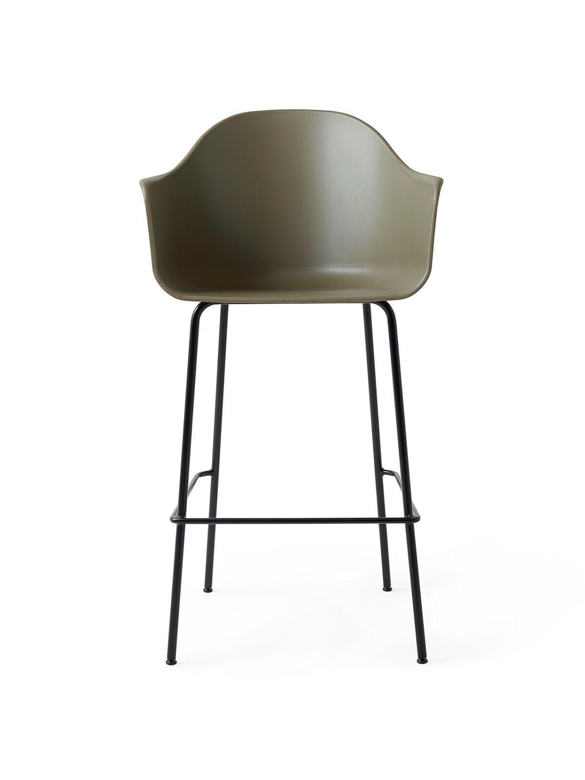 9345429 Harbour Chair Bar Olive Black Front