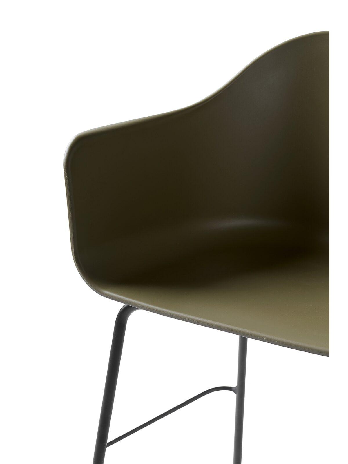 9345429 Harbour Chair bar Olive Black Detail