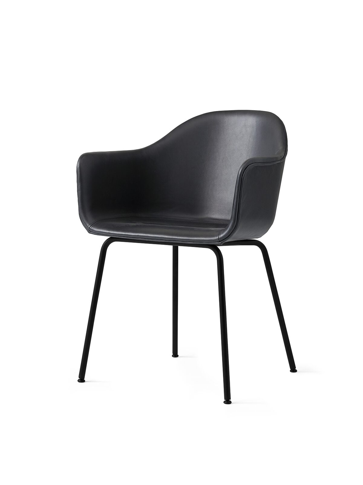 9355559 Harbour Chair DakarBlack0842 Black Angle 1