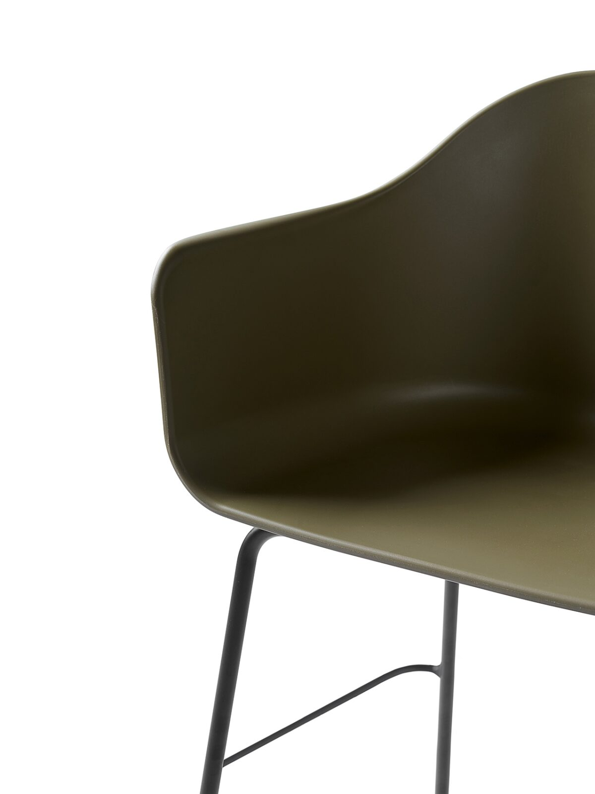 9361139 Harbour Chair counter Olive Black Detail 1