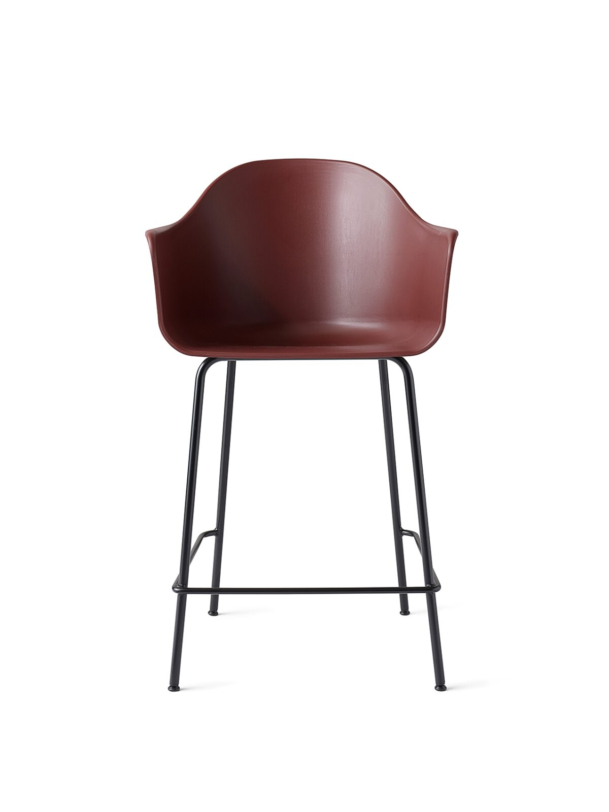 9365349 Harbour Chair Counter BurnedRed Black Front
