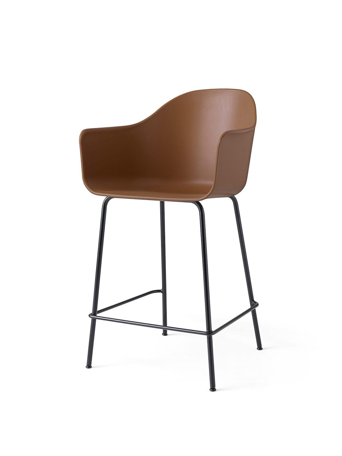 9365849 Harbour Chair Counter Khaki Black Angle