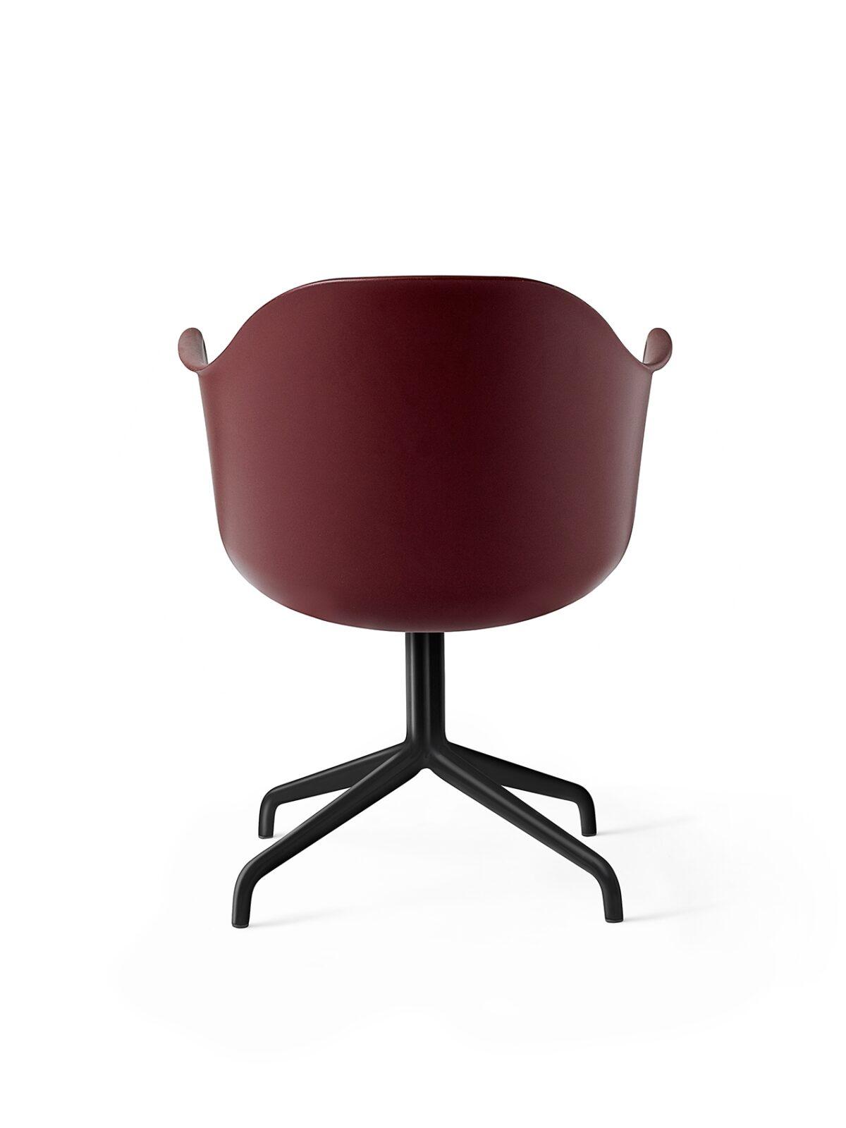 9375349 Harbour Chair Swivel BurnedRed Black Back