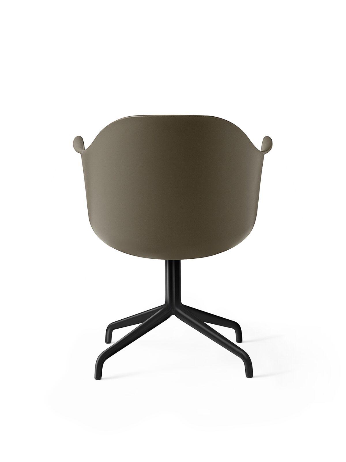 9375429 Harbour Chair Swivel Olive Black Back