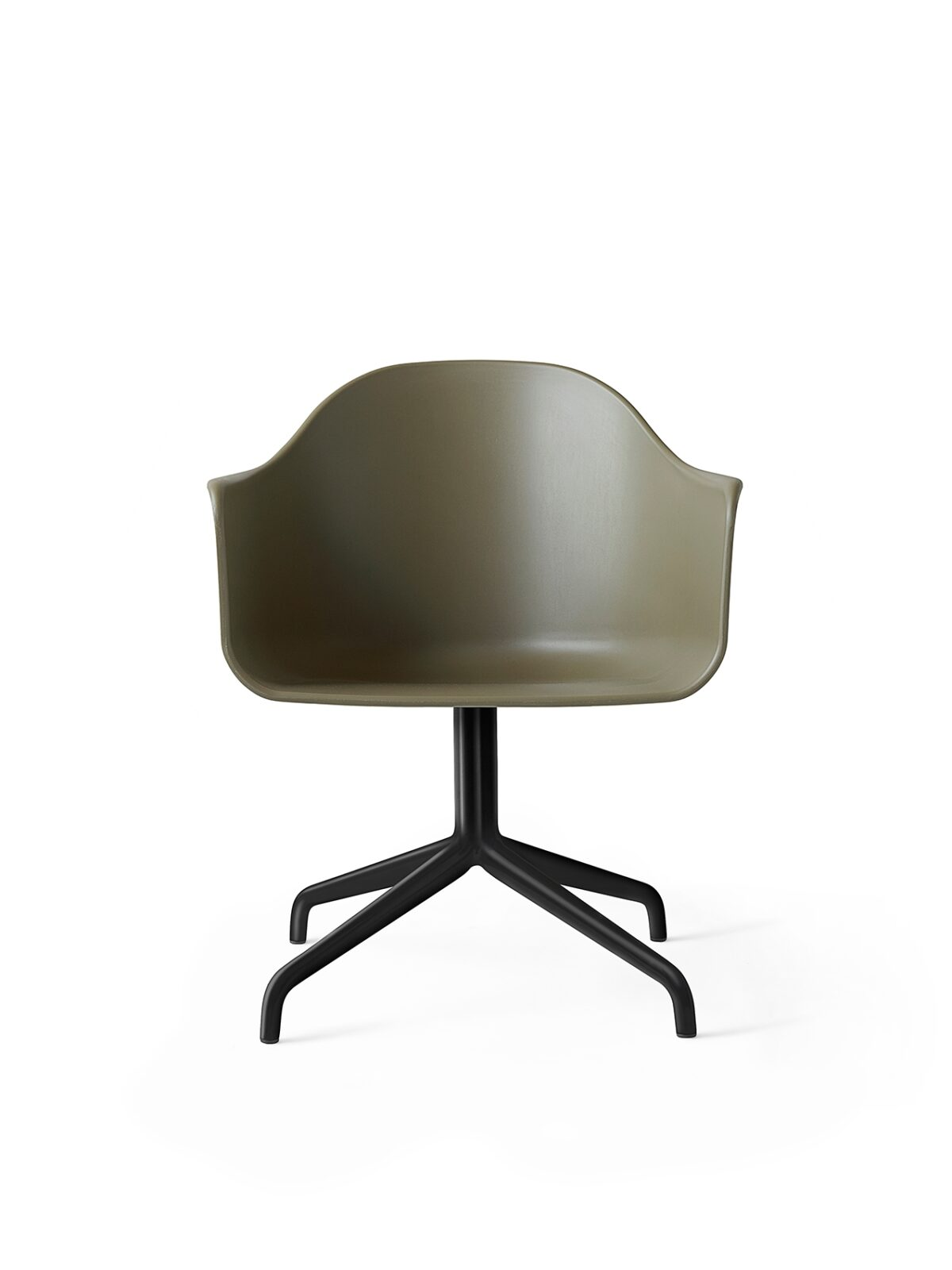 9375429 Harbour Chair Swivel Olive Black Front