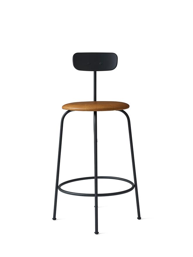 9421530 Afteroom Counter Chair Black Cognac 02