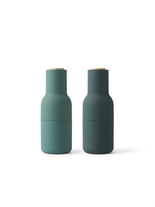 Bottle grinder dark green
