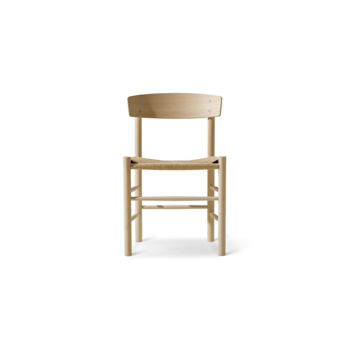 Fredericia j39 stol ek vitoljad natur Glashuset Malmo