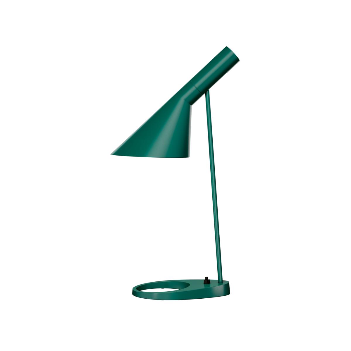Louis Poulsen AJ Bordslampa mörkgrön Glashuset malmö