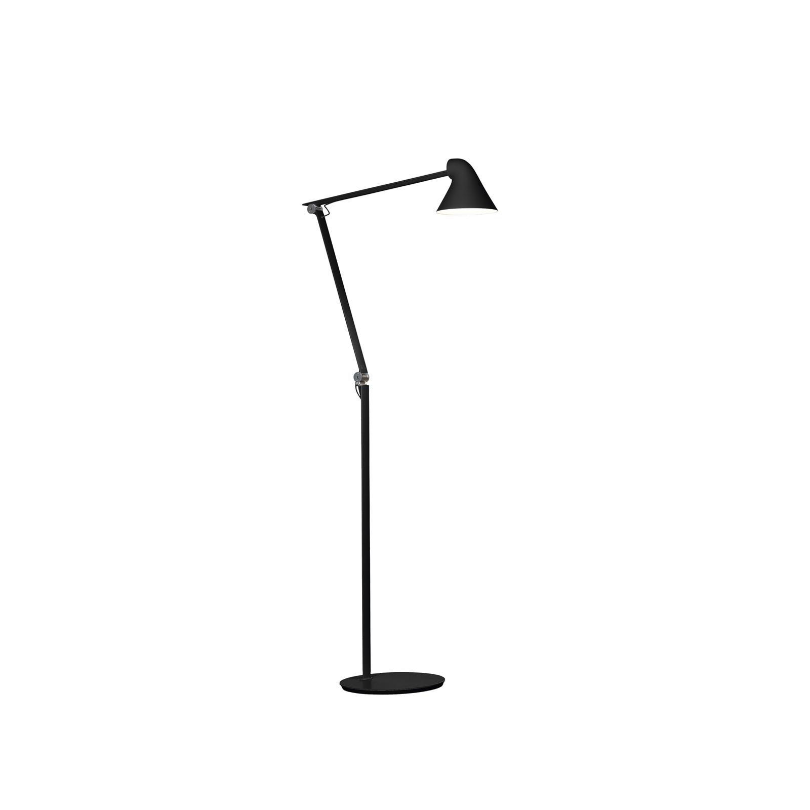Louis-Poulsen-NJP-Golv-Svart-Glashuset-malmo-1