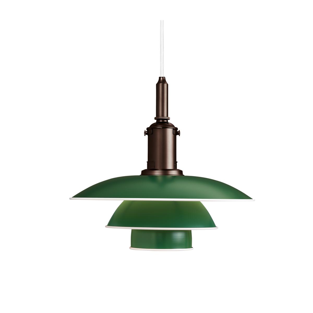 Louis Poulsen PH 3 12 3 Pendel Grön Glashuset malmo