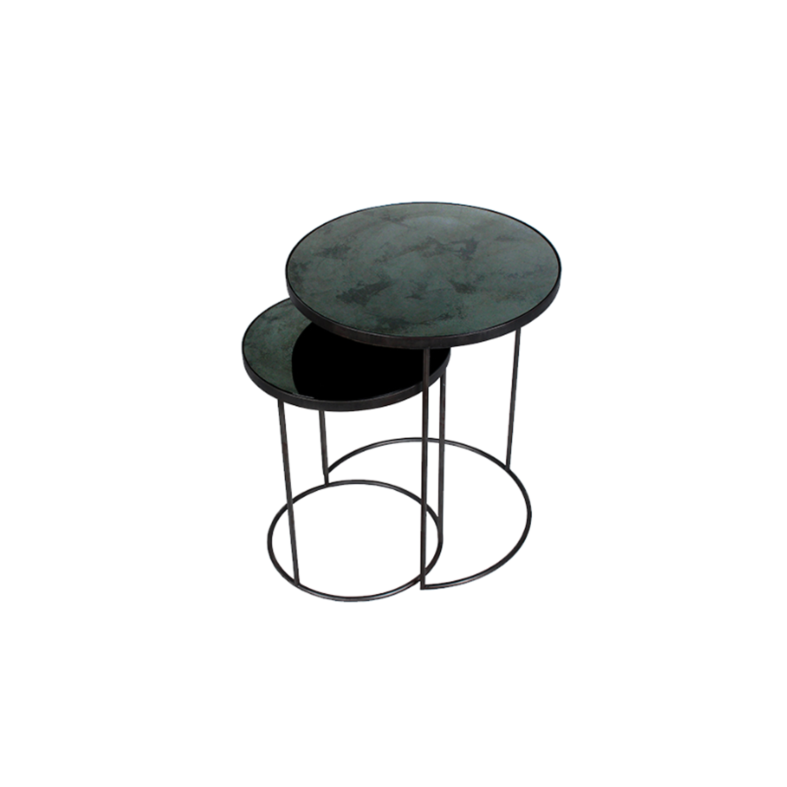 Notre Monde - Nesting Side Table - Charcoal