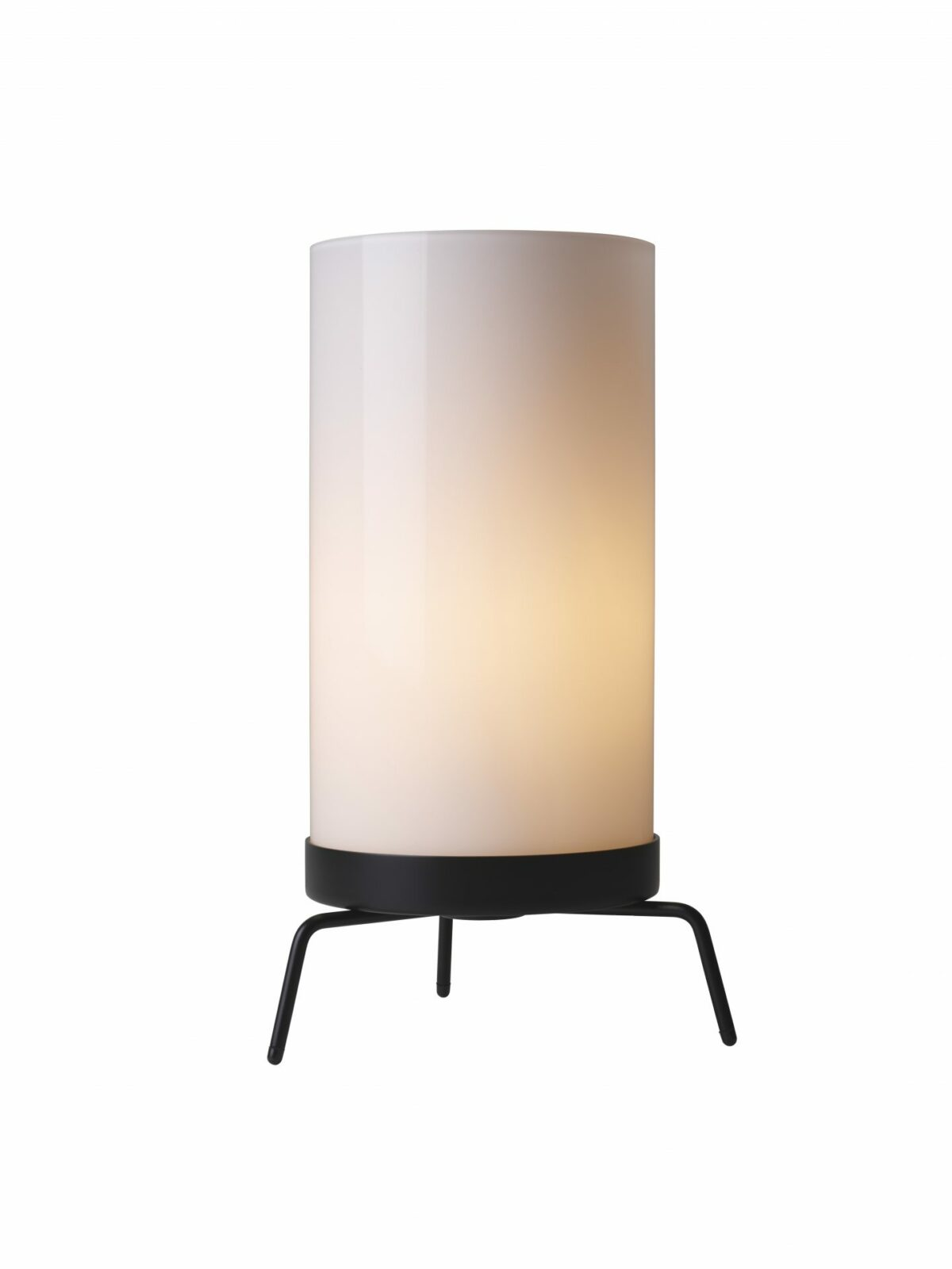 PM 02 table lamp  Opal Black w. light