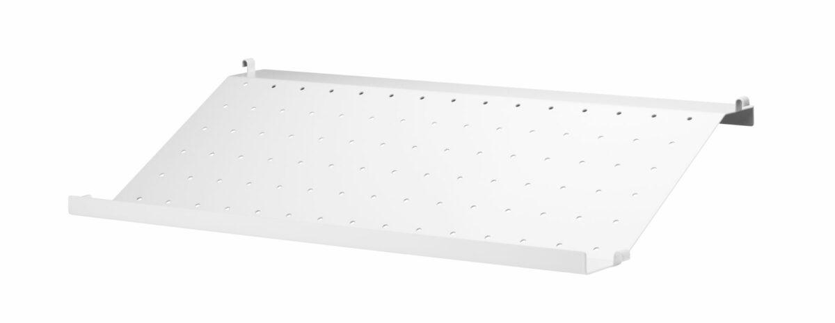 product metal shoeshelf white