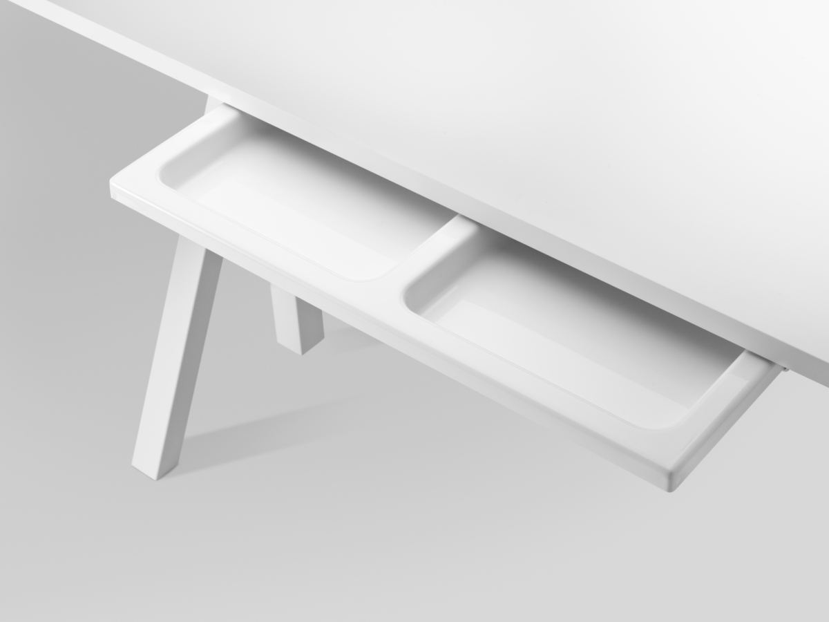 product pullout drawer white