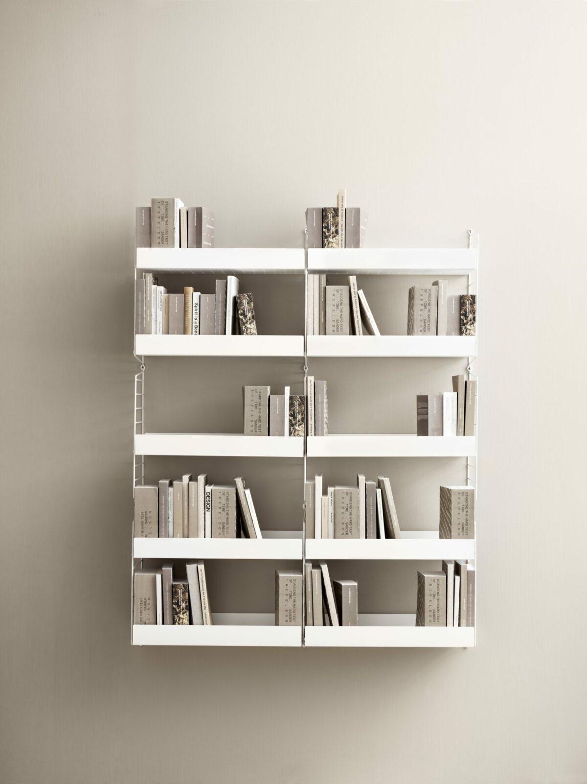 string system livingroom white beigebackground portrait