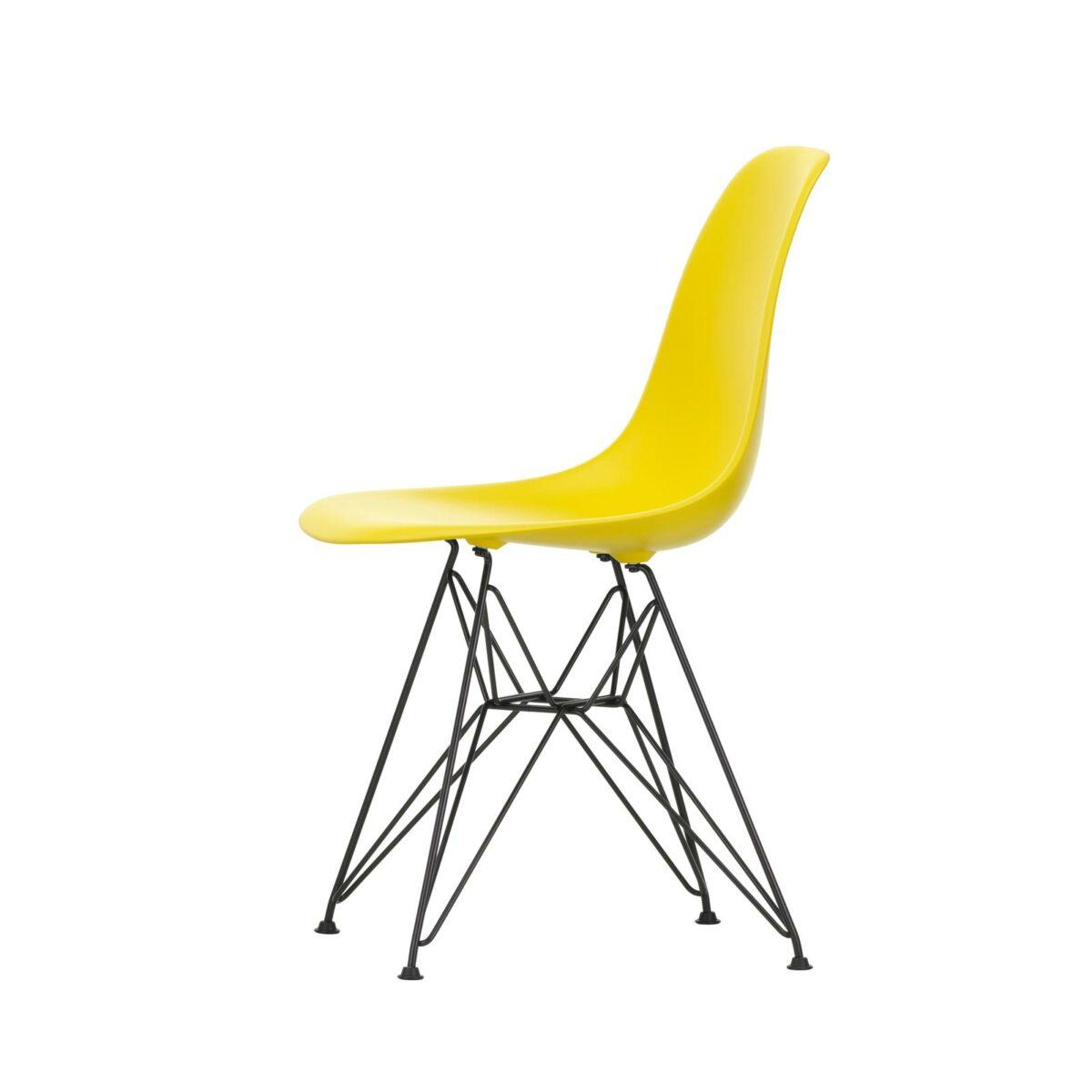 2779111 Eames Plastic Side Chair DSR 26 sunlight 30 basic dark powder coated left master