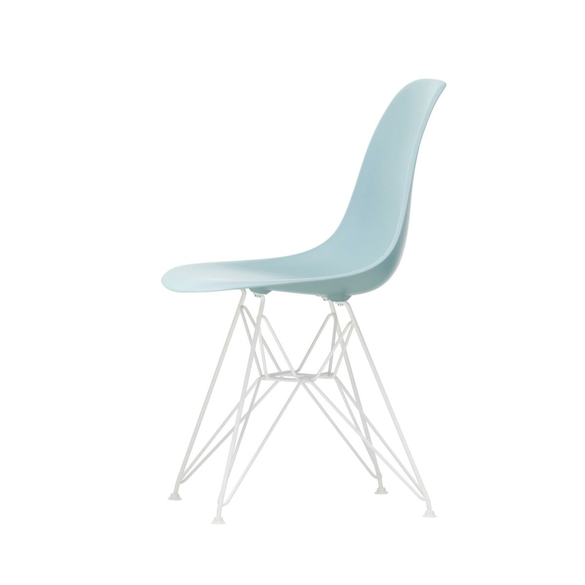 3034948 Eames Plastic Side Chair DSR 23 ice grey 04 white powder coated left master