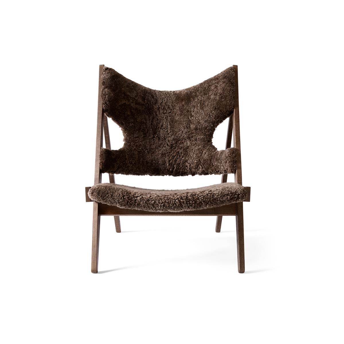 9680939 Knitting Lounge Chair Dark Stained Oak Drake 22 Front 1