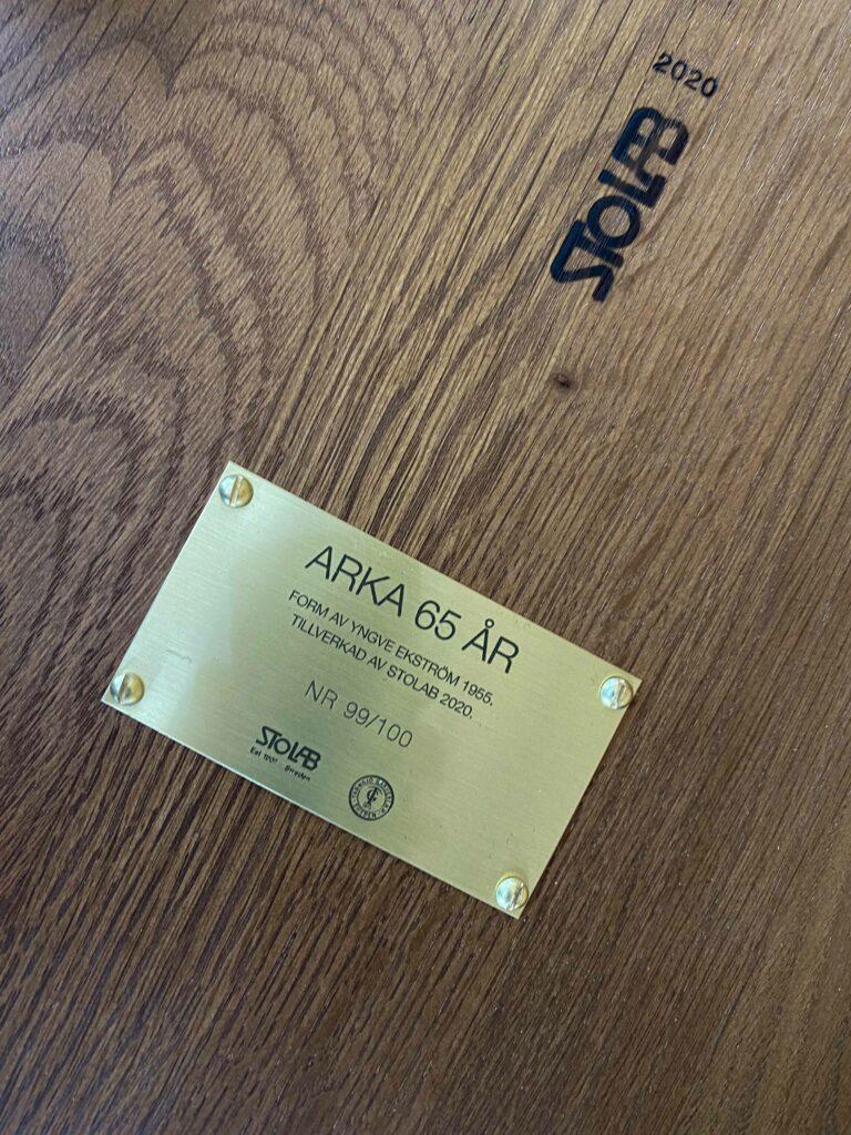 Stolab Arka04 Glashuset i Malmo
