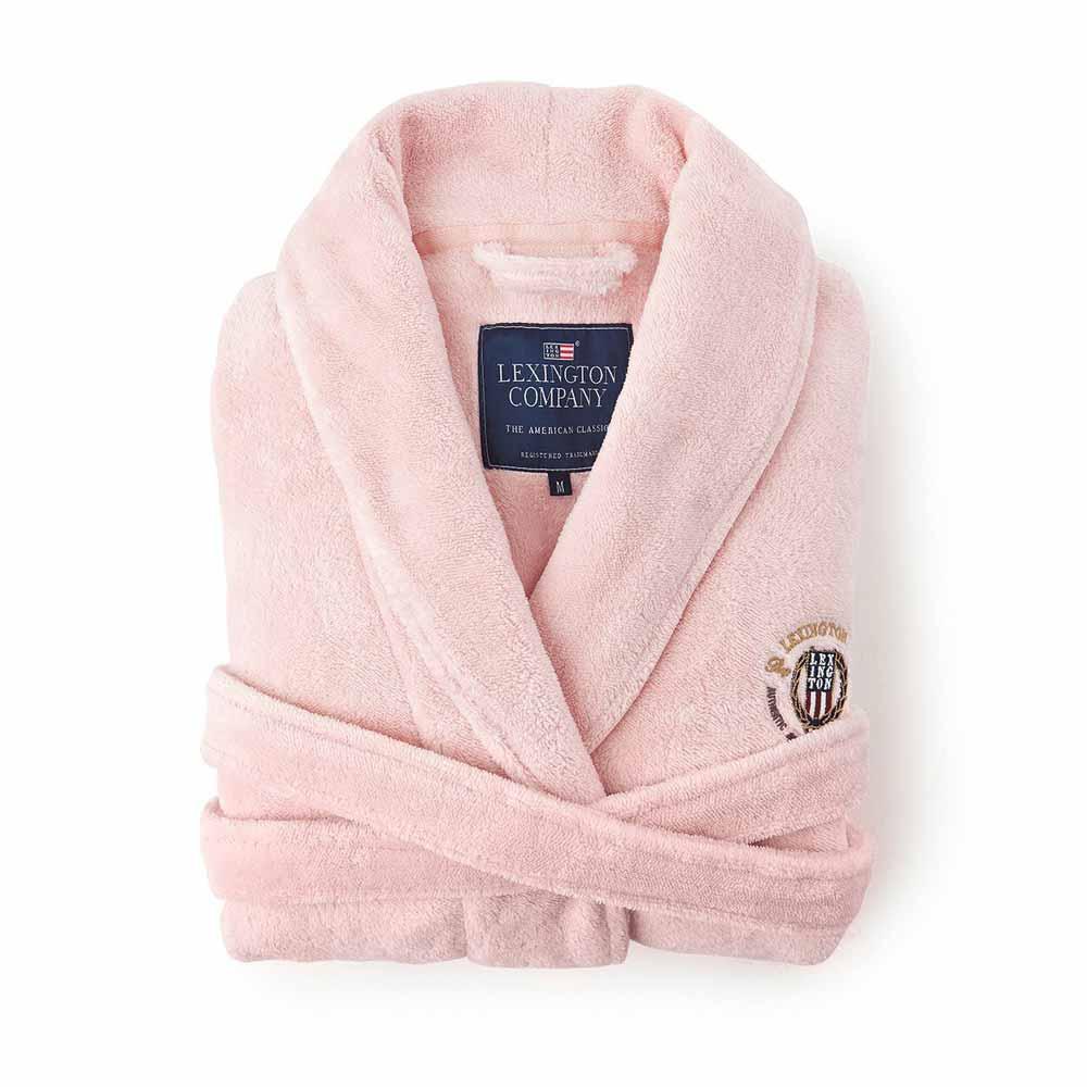 Lexington Velour Robe pink