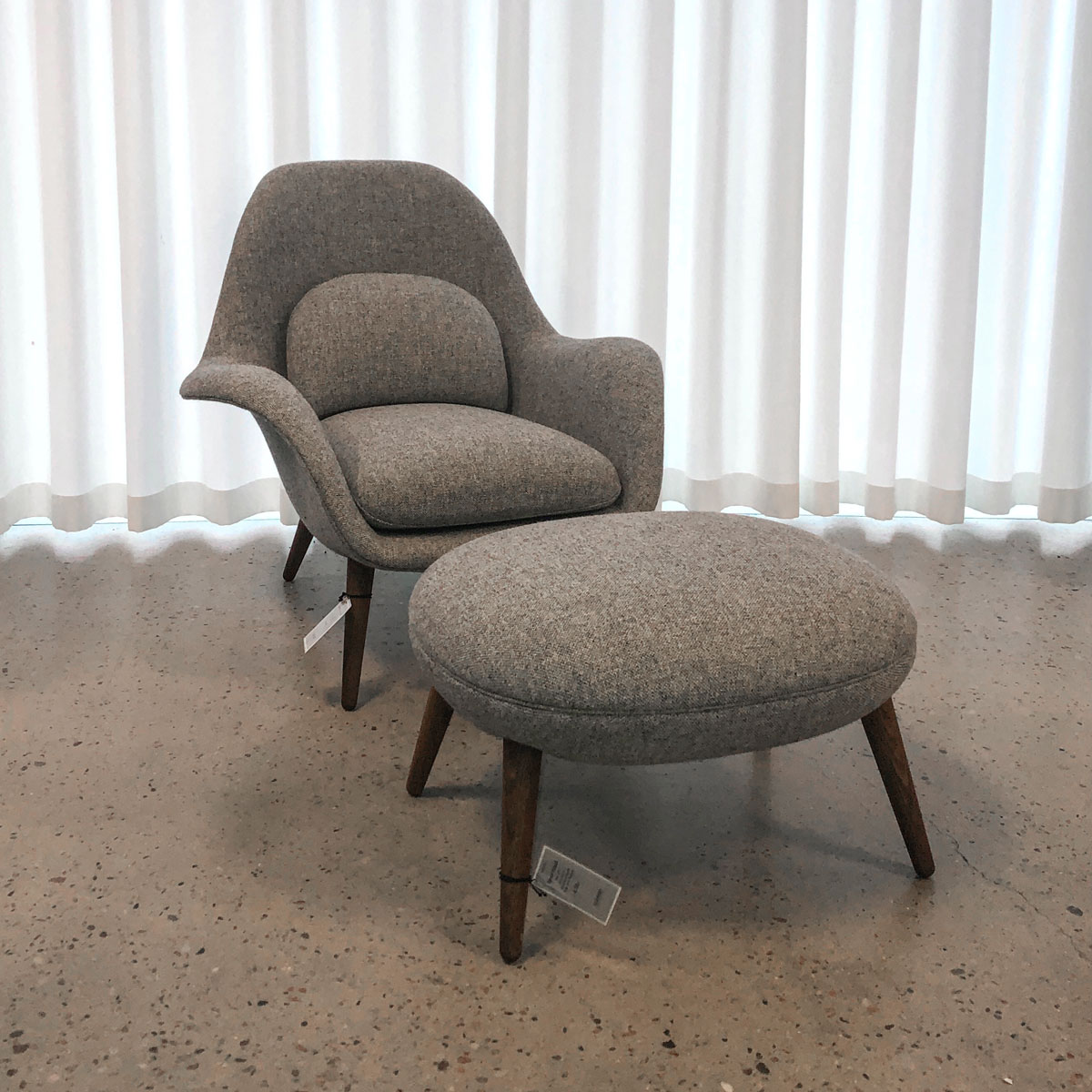 fredericia Swoon Easy Chair demo