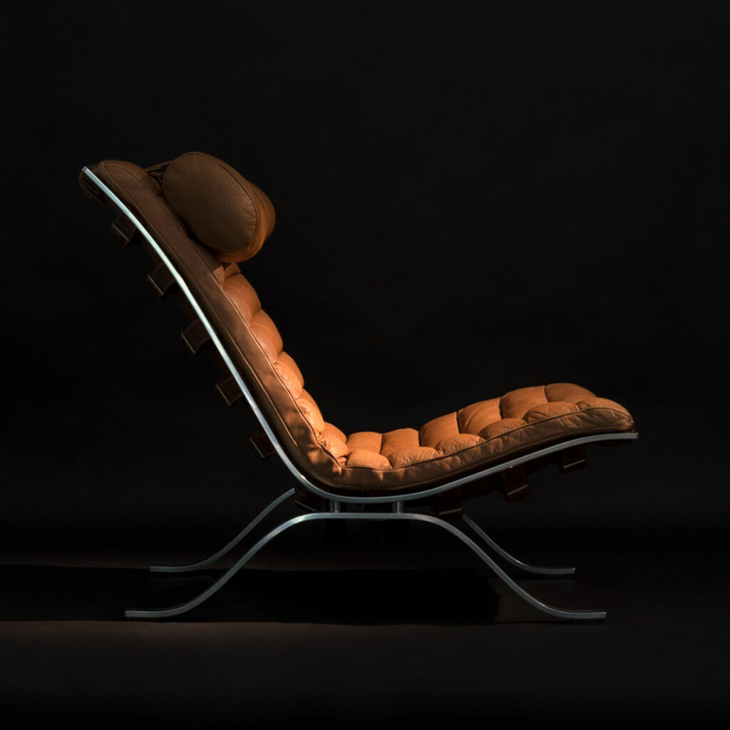 ARI LOUNGE CHAIR BY ARNE NORELL 1960S