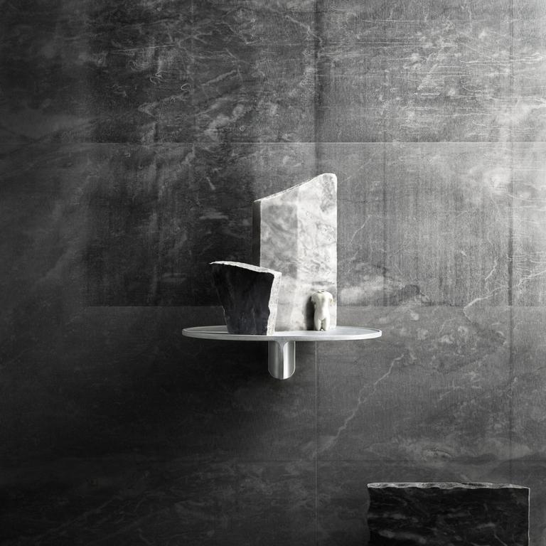 inspiration museum aluminium grey portrait medium