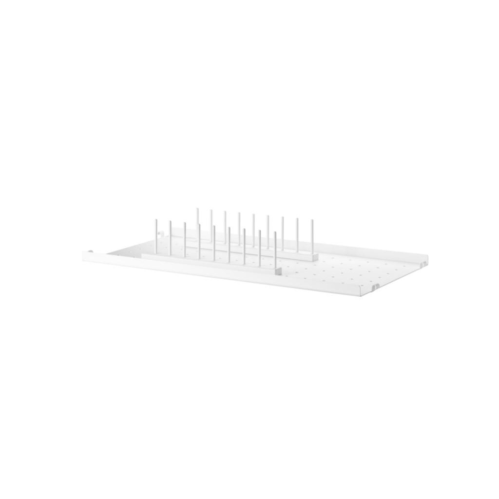 product string system plate rack 30 side metal shelf low edge 58x30 white landscape medium