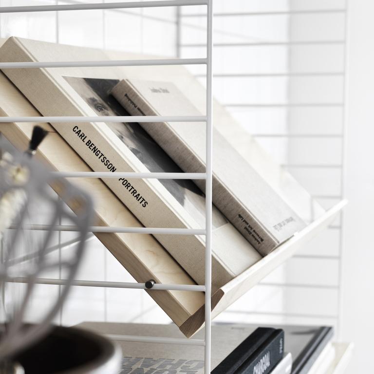string system magazine shelf ash portrait medium