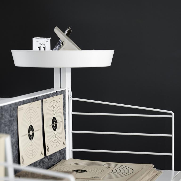 string works bowl in aluminium closeup landscape medium