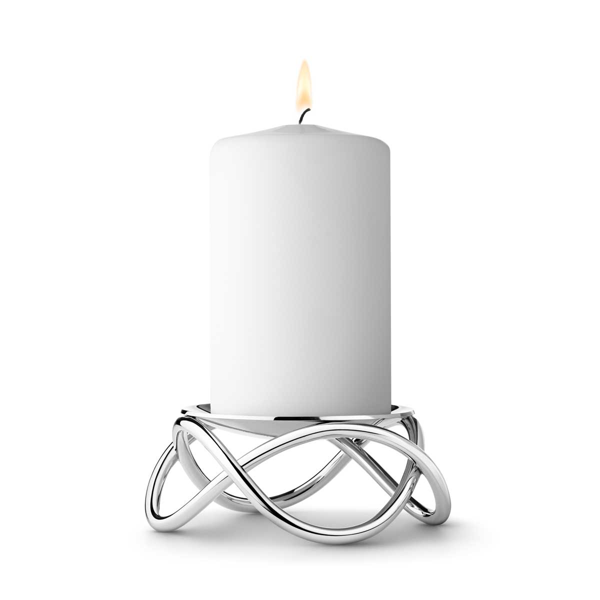3586487 Glow Candleholder Stainless Steel