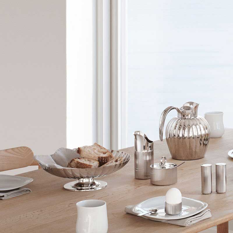OnModel Bernadotte egg cup sugar bowl creamer life style